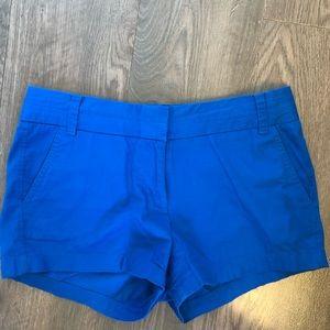 Blue J Crew Chino Shorts
